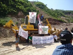 Toma Pacifica de la presa El Zapotillo - Marzo2011