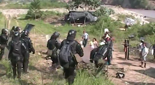 Forced Eviction in Huila, Colombia
