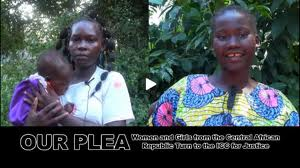 "Still from ""Our Plea: Women and Girls from the Central African Republic Turn to the ICC for Justice"""