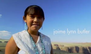 Jamie Lynn, 12, is from Northern Arizona.
