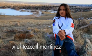 Xuihtezcatl, 12, is from Boulder, Colorado.