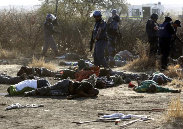 The Lonmin Mine Massacre