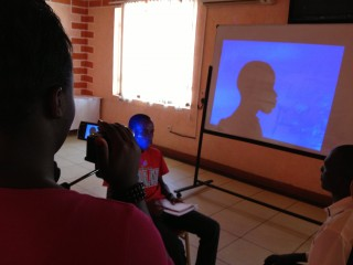 Participants in the WITNESS training learn a technique for preserving interviewees&#039; anonymity.