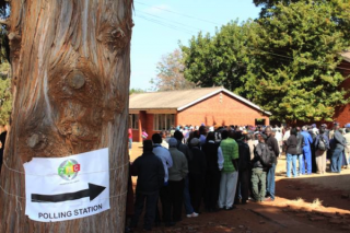 ZimVotersatPollingStation