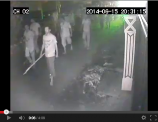 CCTV footage from Beruwala