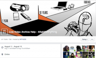 Archiving Q and A Facebook page
