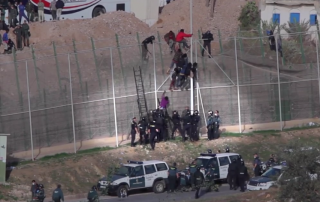 Screenshot from PRODEIN Melilla's video http://vimeo.com/109091397