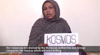 Kosmos Energy Protest