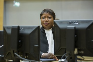 ICC Prosecutor Fatou Bensouda during the October 2014 status conferences concerning the status of cooperation between her office and Kenya (Photo: Flickr/ICC-CPI)