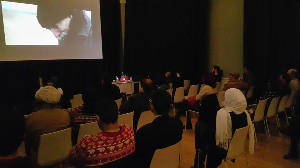 Screening room at MENA convening in Turkey