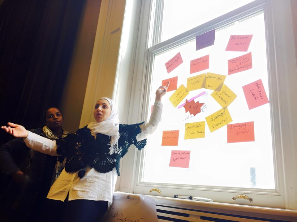 Mayss Al-Zoubi training at MENA convening in Turkey